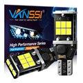 VANSSI 2 шт. 921 T15 светодиодный Резервное копирование Светильник лампы T15 912 w16w Светодиодный лампочки Canbus Wy16W светодиодный индикатор лампа против...