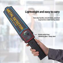 цена на Handheld Metal Detector Security Super Scanner Portable Finder Body Search Tools 63HF