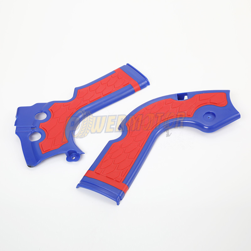 1 Set Plastic Frame Guard Protection For KTM SXF 250 350 450 HUSQVARNA FE 250
