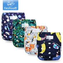 EezKoala Big Size XL Cloth Diaper Washable Eco-Friendly  Christmas Adjustable Reusable Cloth Diapers Cover Fit 2-5 Years Baby