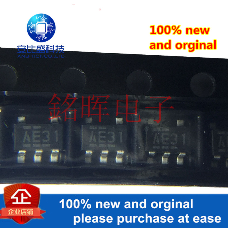 10pcs 100% New And Orginal NJM2831F05 Silk-screen AE31 SOT23-5 In Stock