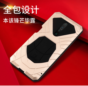 Image 2 - IMATCH Aluminum Metal Silicone Shockproof Case For Xiaomi Redmi Mi 10t Lite Pro ultra K30 K20 9T Pro F1 Dirt Shock Proof Case