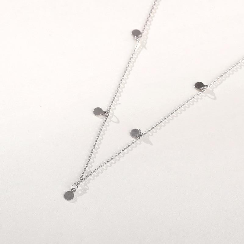 Hb2907f08b9874742b0a7e069ba7373afL INZATT Real 925 Sterling Silver Geometric Round Choker Necklace For Fashion Women Minimalist Fine Jewelry Cute Accessories 2019