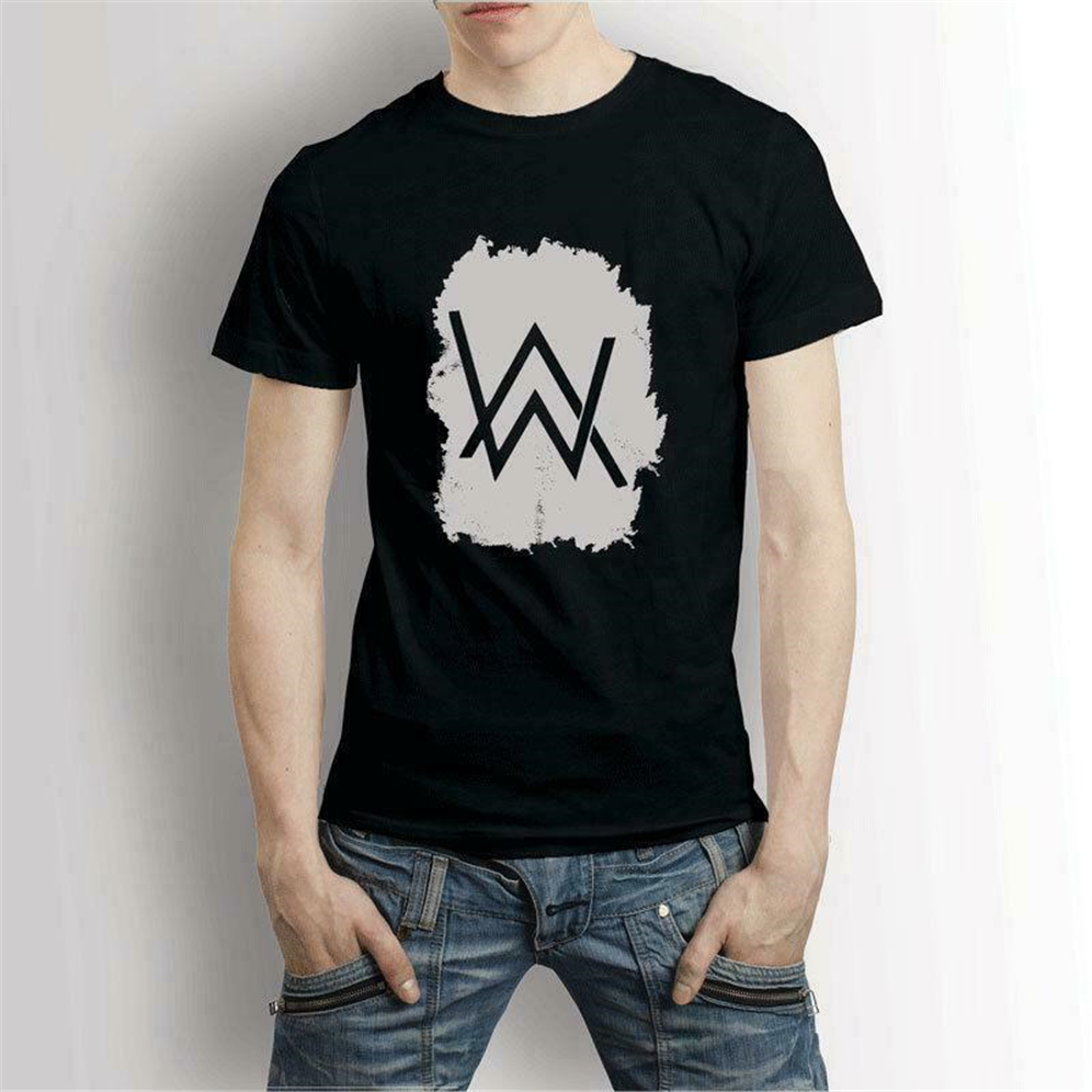 Alan Walker Tour 2019 Edm Music Dj T-Shirt Men'S Tee Usa Size Em1 Diy Prited Tee Shirt image