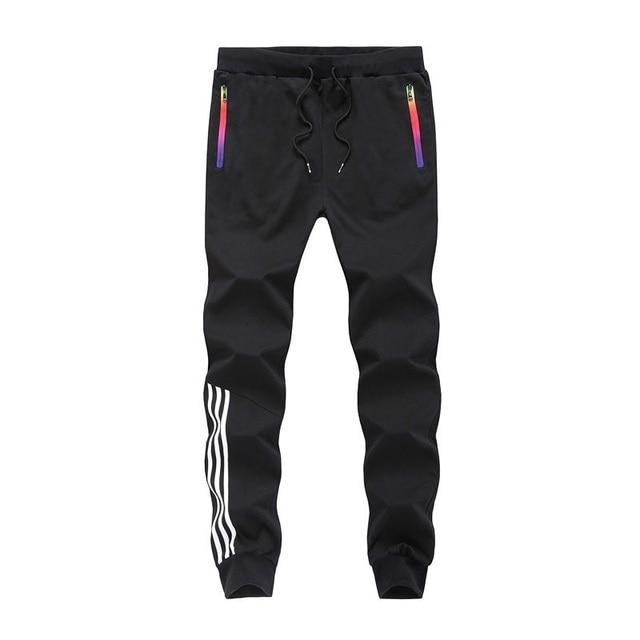 LBL Men Pants Striped Jogger Autumn Casual Mens Sweatpants Sportswear Long Trousers New Straight Pants Man Fitness Clothing 5XL 14