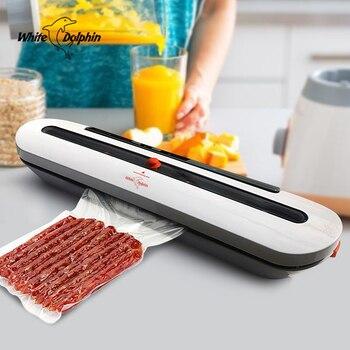Кухонный вакуумный упаковщик, машина для приготовления пищи, 110 В, 220 В, Электрический домашний вакуумный упаковщик еды, Китай, в том числе 10 ш...