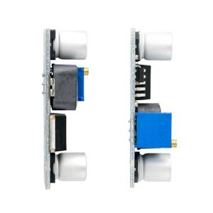 Image 5 - O envio gratuito de 50 pçs/lote DC DC xl6009 impulsionador módulo fonte alimentação saída ajustável super lm2577 maior 4 uma corrente