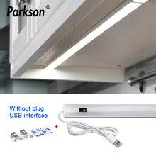 5 в usb питание светодиодный кухонный светильник для шкафа с
