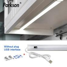 5V USB Powered LED Cabinet Luce Della Cucina A Mano Sweep Sensore Della Lampada di Alta Luminosità smart touch Sensor cabinet ha condotto la luce per la cucina