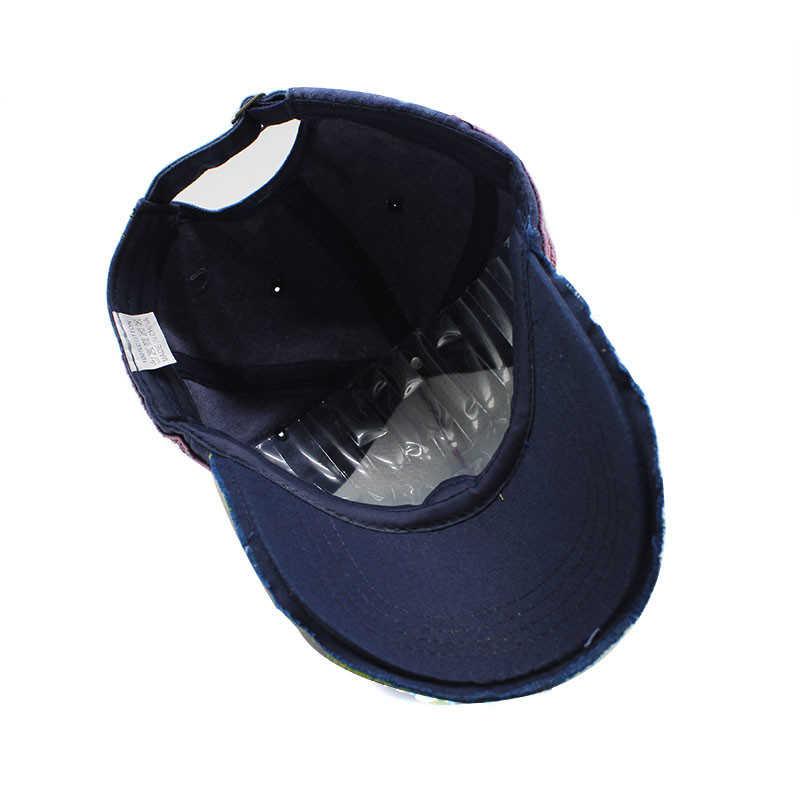 Yeni % 100% yıkanmış pamuklu beyzbol şapkası erkekler ve kadınlar için Gorras Snapback kapaklar nakış Casquette şapka spor açık havada geniş şapka