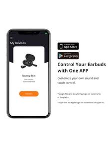 Image 4 - Tronsmart Spunky Beat Bluetooth TWS Earphone APTX Wireless Earbuds with QualcommChip, CVC 8.0, Touch Control