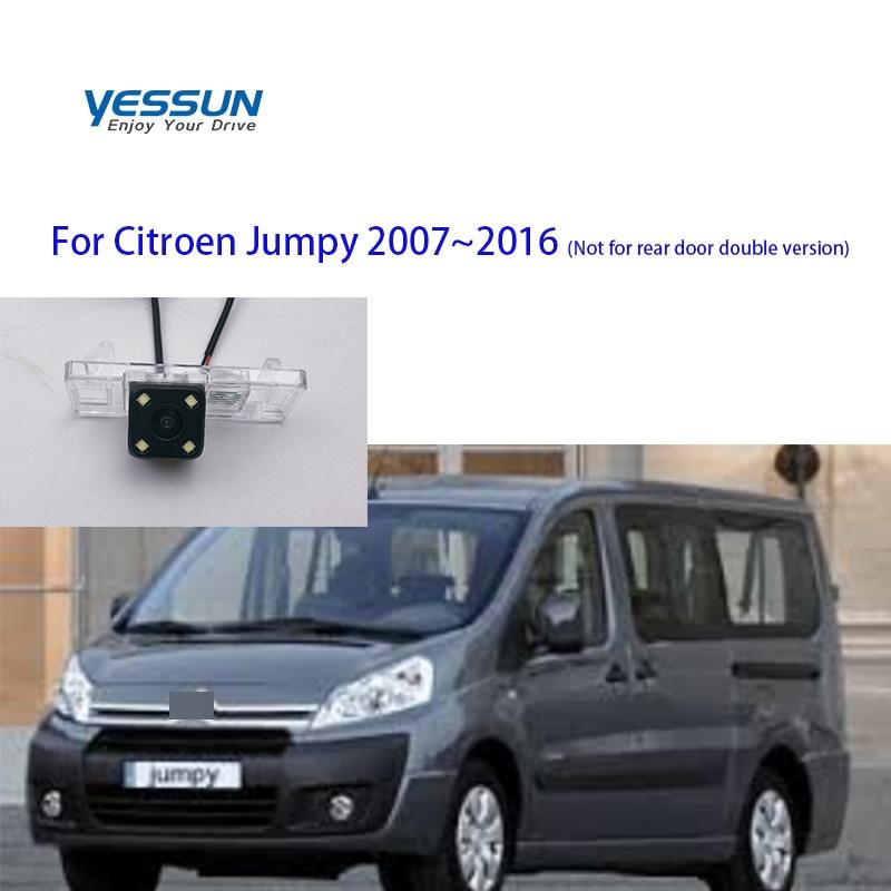 Otomobiller ve Motosikletler'ten Araç Kamerası'de Yessun araba aksesuarları gece görüş araba dikiz ters geri görüş kamerası su geçirmez Citroen Jumpy citroën jumpy 2007 ~ 2016 title=