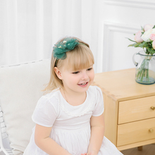 Korea Lovely Chiffon Big Bow Flower Headbands Yarn Hair Accessories For Girls High Quality Hair Band Headband Hair Bow Princess korea hair accessories wool weaving wide side toothed hairbands sweet headband hair band headbands for girls