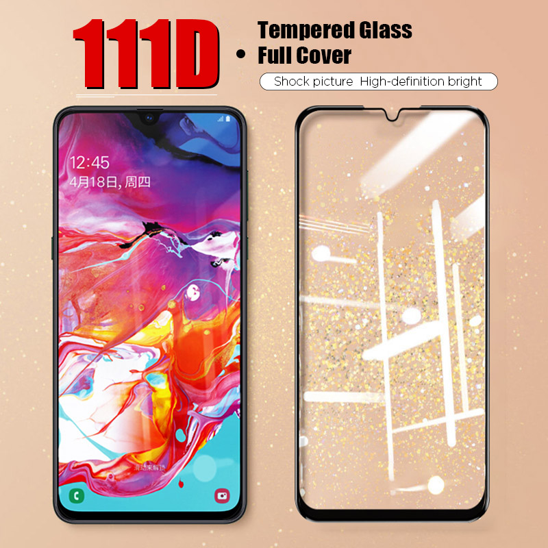 111D Tempered Glass For Samsung A50 A50S A60 A40 A40S Protective Glass For Galaxy A30 A30S A20 A20e A20S A10 A10S