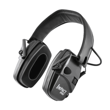 Tactical Electronic Shooting Earmuffs Outdoor Sports Anti-noise Sound Amplification Hearing Protection Headphones Foldable BK