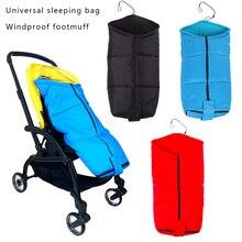 Baby Stroller Winter Sleep Bag Keep Warm Footmuff Baby Stroller Accessories For Yoyo Bugaboo Infant Blanket Swaddling Warp