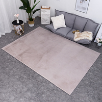Carpet bedroom covered with rabbit plush floor mat large living room floating window mattress bedside carpet