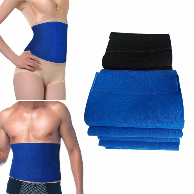 Waist Trimmer Exercise Burn Fat Sweat Weight Loss Slimming Body Shaper Wrap Belt LX9E