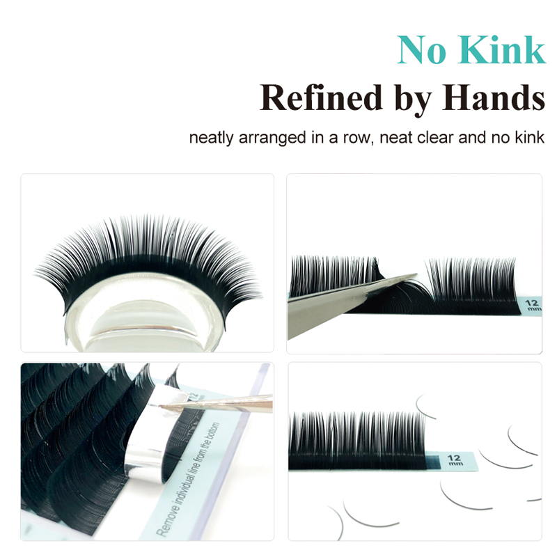 Deal½NATUHANA Faux-Mink-Lash Makeup-Cilia Soft-Eyelashes Extension-Korea Handmade 50cases/Lotæ
