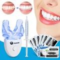 Dental Zähne Bleaching Streifen Oral Hygiene Kit mit Zähne Bleaching LED Accelerator Licht Peroxid Gel Stift Dental Bleichen Werkzeug