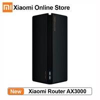 Router Xiaomi AX3000 2.4G 5.0 GHz Gigabit Mesh 4 antenne Extender di rete ripetitore Wireless Router Wifi6 5G