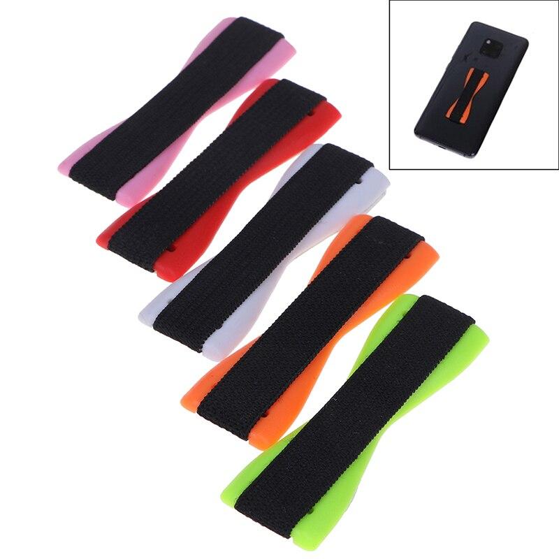 Anti Slip Elastic Band Strap Universal Phone Holder For Apple IPhone Samsung Finger Grip For Mobile Phones Tablets