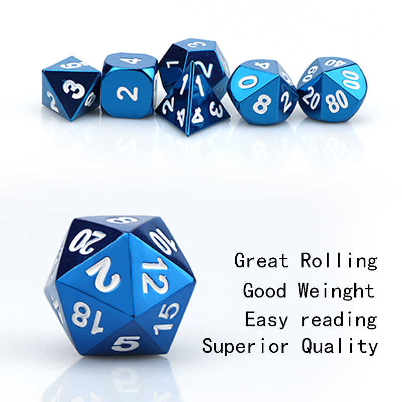 Metal mechanical dice dice set  gear dnd dice  polyhedral dice set  Dungeons and Dragons  dnd dice set  Retro dice