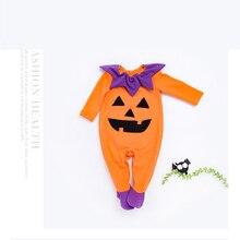 2019 Cute Romper Halloween 2pcs Baby Girls Clothes Jumpsuit Romper+Headband 0-24M Toddler Newborn Outfits Set Hot Sale