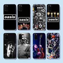 NBDRUICAI Noel Gallagher Cover Black Soft Shell Phone Case for Samsung S9 plus S5 S6 S7 edge S8 S10 plus(China)
