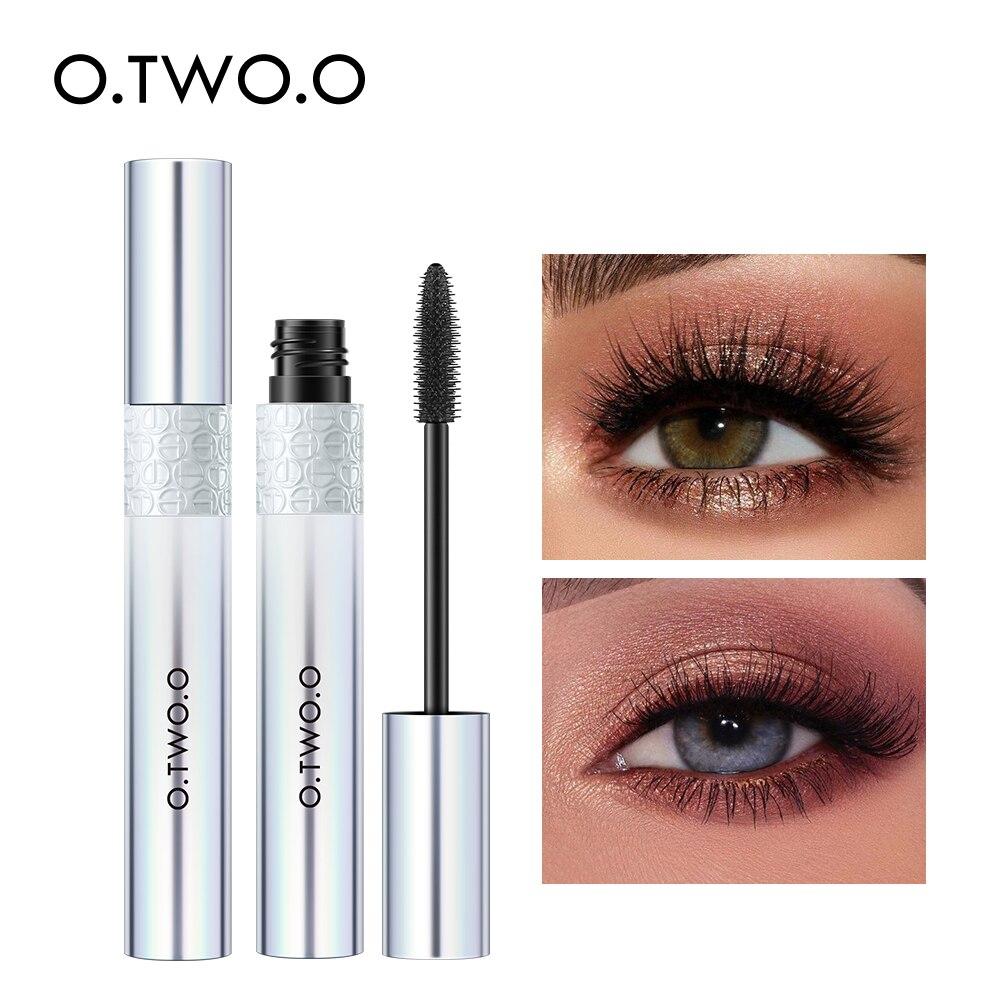 Тушь для ресниц O.TWO.O, Водостойкая тушь для ресниц с эффектом увеличения объема и длины, 4D