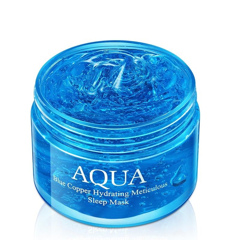 Anti-Aging Moisturizing Cream Facial Replenish Fresh Water Whitening Sleeping Mask Face Care