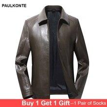 2019 autumn new loose casual leather mens coat motorcycle clothing fashion wild jacket