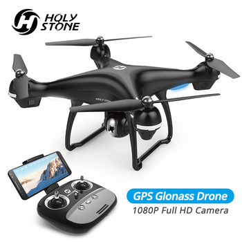 Holy Stone HS100 Drone GPS Profesional FPV WIFI Camera HD 1080P Selfie RC Quadcopter GPS Drones 500m RC Helicopter Quadrocopter дрон jjrc x9 heron с камерой hd 1080p wifi gps