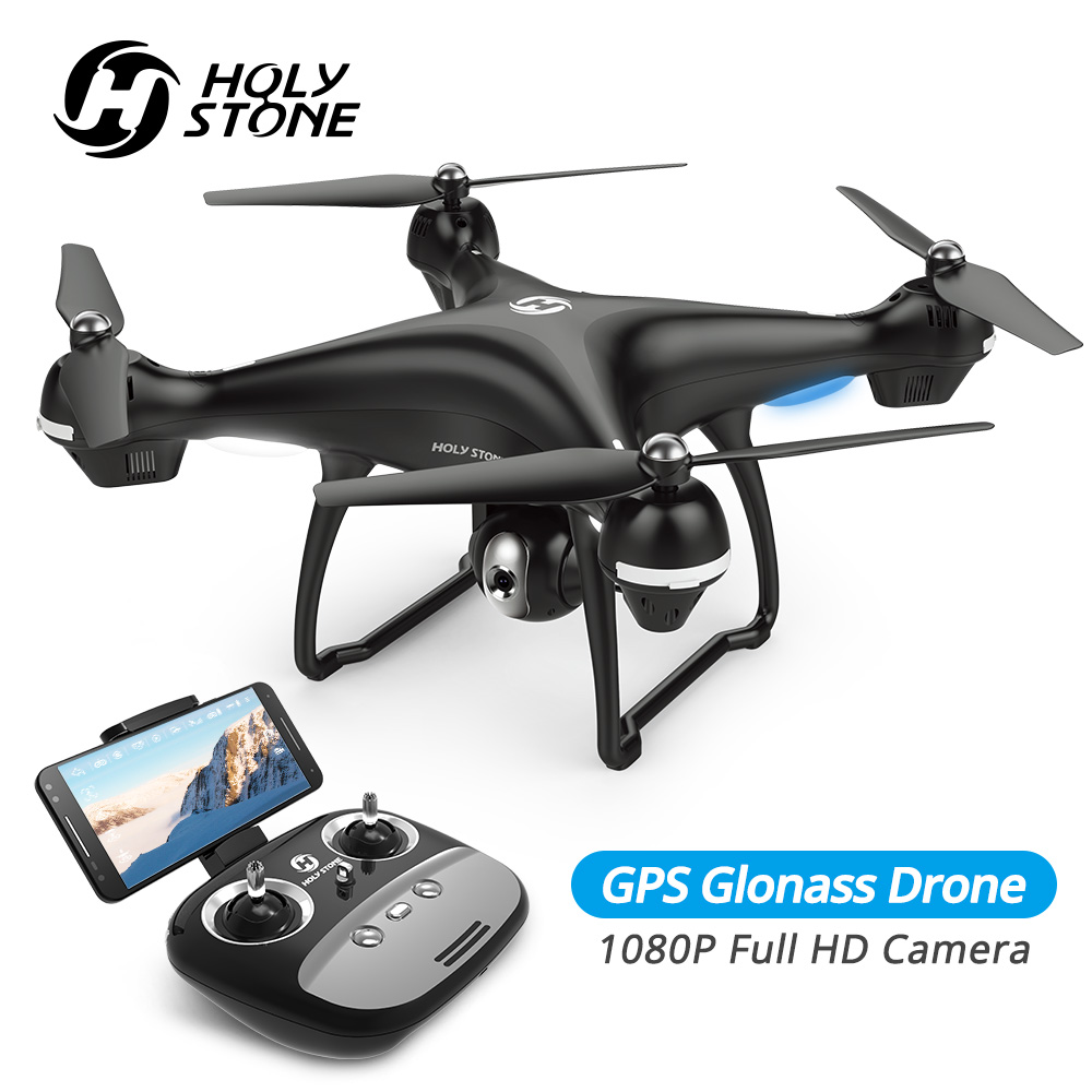 Holy Stone HS100 Drone GPS Profesional FPV WIFI Camera HD 1080P Selfie RC Quadcopter GPS Drones 500m RC Helicopter Quadrocopter