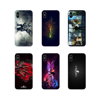 Cs Go Counter Strike Global Offensive For Xiaomi Redmi 4A S2 Note 3 3S 4 4X 5 Plus 6 7 6A Pro Pocophone F1 TPU Transparent Cases image