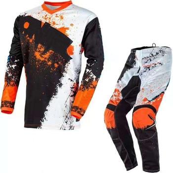 New 2020 180 Prix MX Blue Gear Set Combo ATV Off-Road Motorcycle Motocross Jersey and Pants Men's