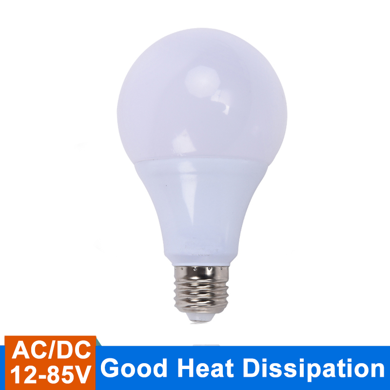 E27 LED Bulb AC/DC 12v Led Lamp 24v Led Light Bulb 36v Led Lampada Ampoule Bombilla 50v for Camping and ship Outdoor Lighting