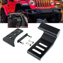 Kick-Panel Wrangler Dead-Pedal Jl-Accessories Foot-Rest Car-Interior-Decoration Jeep