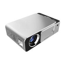 T5 проектор Мини 720P портативный домашний офис поддержка Hd 1080P проектор 30-200 дюймов Размер проекции
