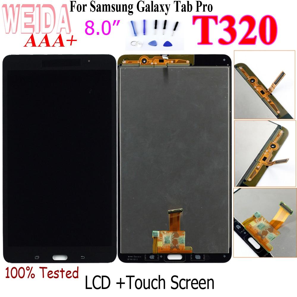 WEIDA-recambio de pantalla LCD para Samsung Galaxy Tab Pro 8,4 T320 SM-T320, montaje de digitalizador con pantalla táctil, WIFI, 8 pulgadas
