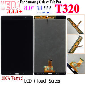"WEIDA T320 LCD Replacment 8"" For Samsung Galaxy Tab Pro 8.4 T320 SM-T320 LCD Display Touch Screen Digitizer Assembly T320 WIFI"