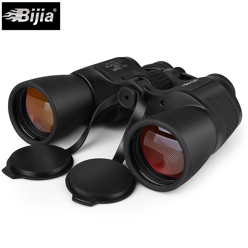 <font><b>BIJIA</b></font> <font><b>10</b></font>-<font><b>120X80</b></font> Professional Telescope High Magnification Long Range Zoom Hunting Telescope Wide Angle Binoculars For Hunting image