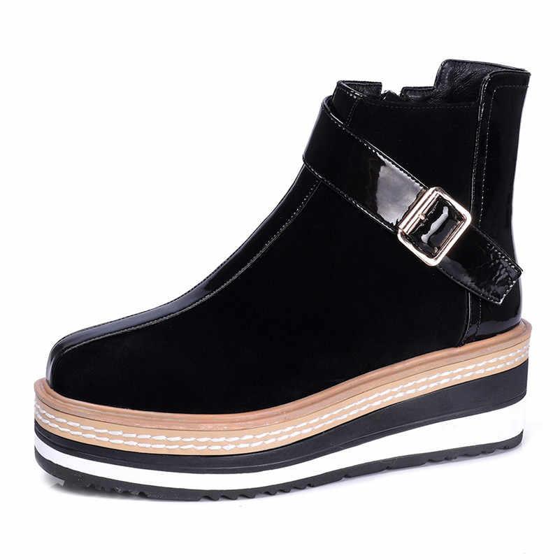 FEDONAS 2020 סתיו חורף חם ארוך מגפי לילה מועדון נעלי אישה פרה פטנט עור נשים הברך מגפיים גבוהים רוכסן גבוהה עקבים