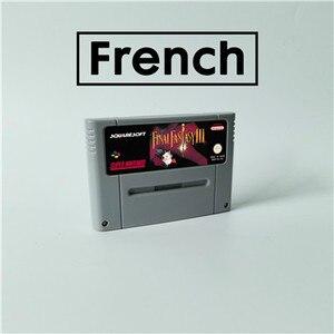 Image 1 - Partita finale Fantasy III 3 Lingua Francese RPG Gioco di Carte EUR Versione di Lingua Inglese Risparmio Batteria