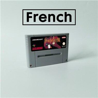 Trận Đấu Cuối Cùng Giả Tưởng III 3 Ngôn Ngữ Pháp Game Nhập Vai Trò Chơi Thẻ Kích Phiên Bản Ngôn Ngữ Tiếng Anh Tiết Kiệm Pin