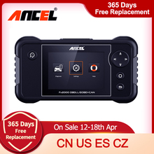 Airbag-System Automotive-Scanner Abs-Engineer Ancel Fx2000 Professional OBD2 Autotools