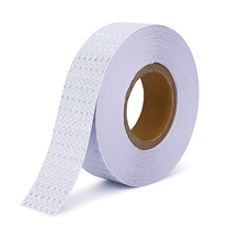 White Self Adhesive Glue Sticker Car Vehicle Road Safety Reflective Tape