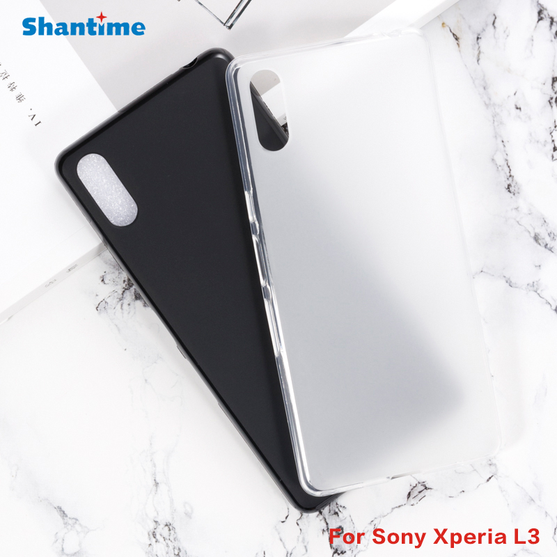 For <font><b>Sony</b></font> <font><b>Xperia</b></font> <font><b>L3</b></font> Gel Pudding Silicone Phone Protective Back Shell For <font><b>Sony</b></font> <font><b>Xperia</b></font> <font><b>L3</b></font> Soft TPU <font><b>Case</b></font> image