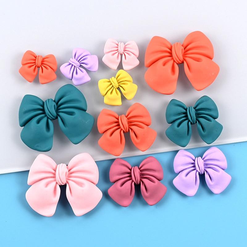 Polka dot bow magnetic refrigerator magnet, solid color bow magnetic refrigerator magnet, cute blackboard magnet sticker