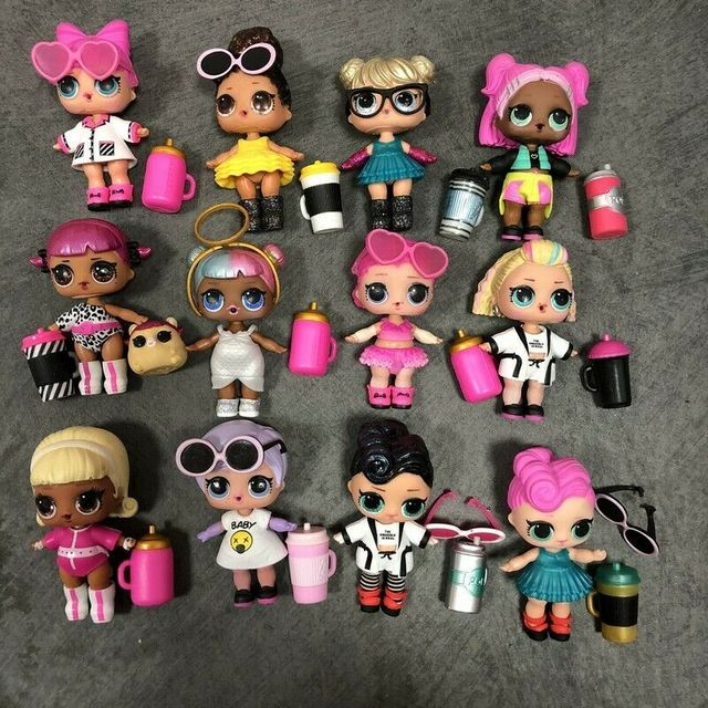 Lot LOL Surprise Doll Big Sister Confetti Pop Sugar Flower Child Cherry Queen Bee L.O.L. Toys Children Kids Gifts 1
